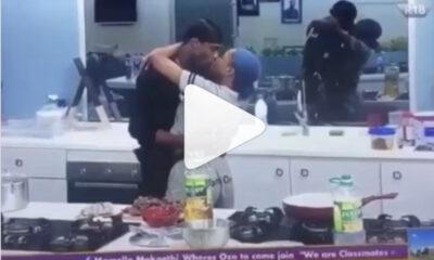 Neo and Vee kiss celebrate