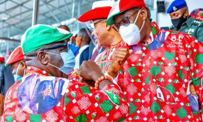 Obaseki, Shaibu's Victory: Makinde, Wike, Davido, Ortom, Okowa, Ben Bruce React