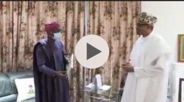 Governor Sanwo Olu of Lagos State Briefs President Buhari Demands Of ENDSARS Protesters
