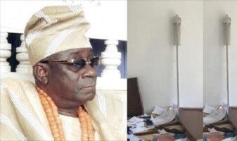 Oba Of Lagos, Rilwan Akiolu's Staff Of Office Reportedly Returned