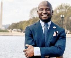 Nigerian Man Elected Into US Congress To Represent Washington D.C (Photos)