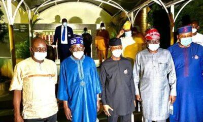Osinbajo, Tinubu, Sanwo-olu Meet In Lagos