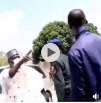 Power Drunk Adamawa Politician Slaps A Poor Mechanic In His Shop