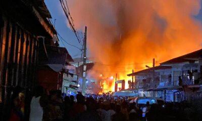 Fire Outbreak Kairo Market