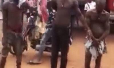 Three Unknown Gunmen Burnt To Death In Anambra