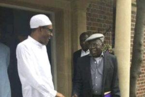 President Buhari & Tinubu Captured Together At The Abuja House In UK